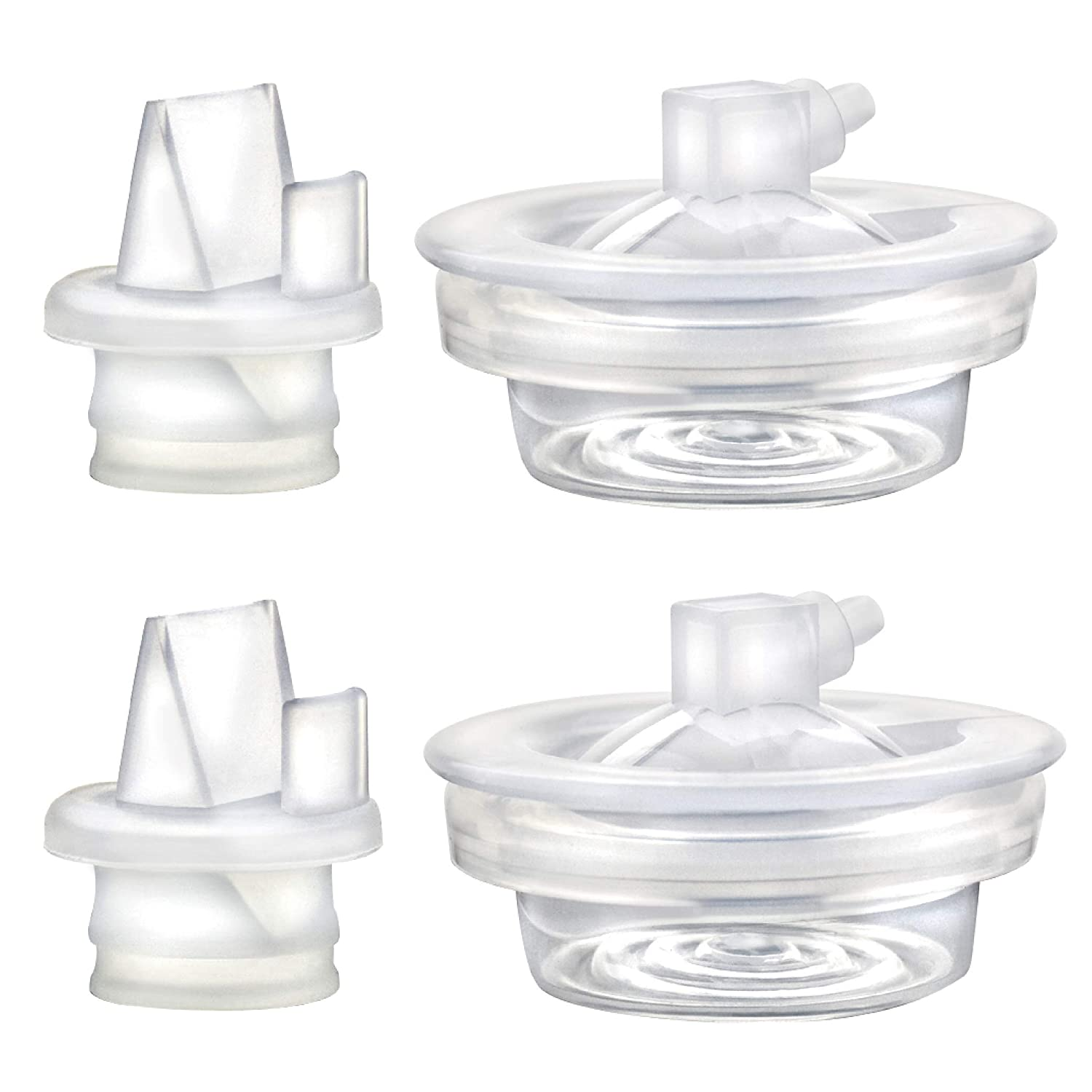 Replacement Parts for Avent Comfort Pump, Valve, Diaphragm for Single and Double Electric Pumps; Made by Maymom