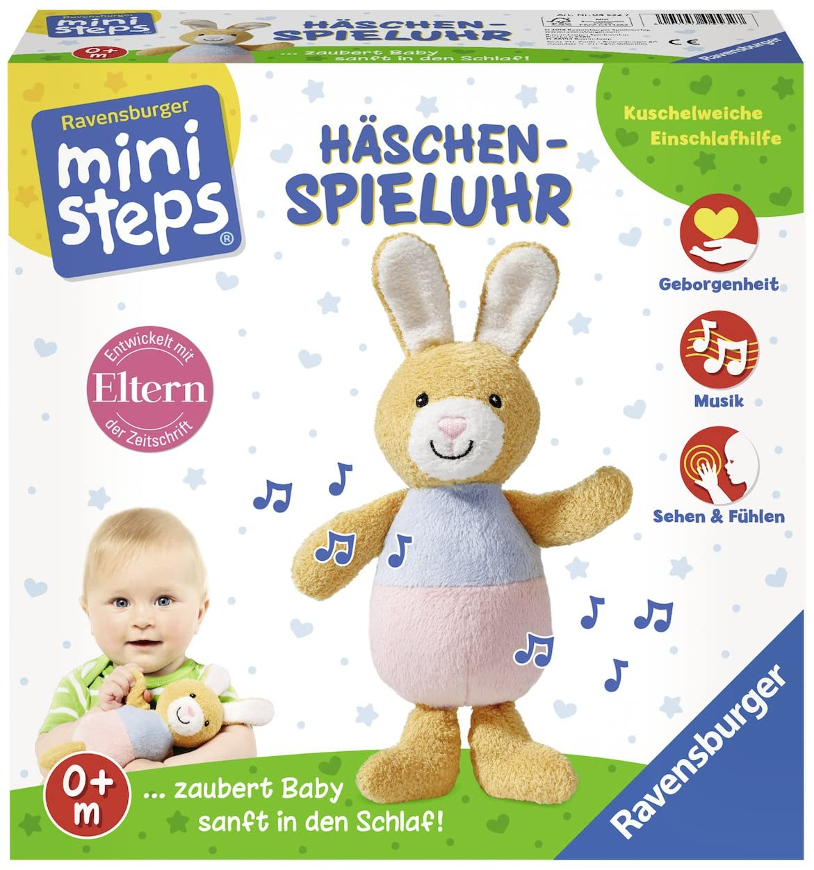 Ravensburger 04532 Bunny Musical Toy Mini Steps Musical