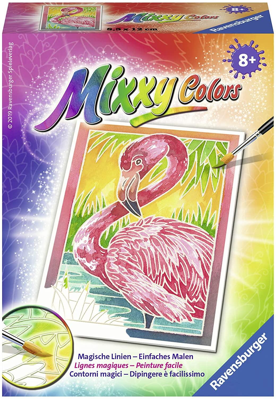 Ravensburger Mixxy Colors 29121 29121 Flamingo-Mixxy Colours Painting