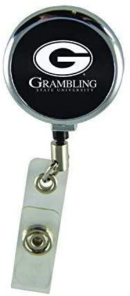 LXG, Inc. Grambling State University-Retractable Badge Reel-Black