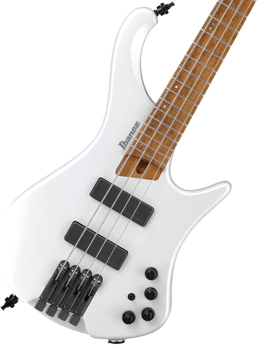 Ibanez Bass Workshop EHB1000 Bass Guitar - Pearl White Matte