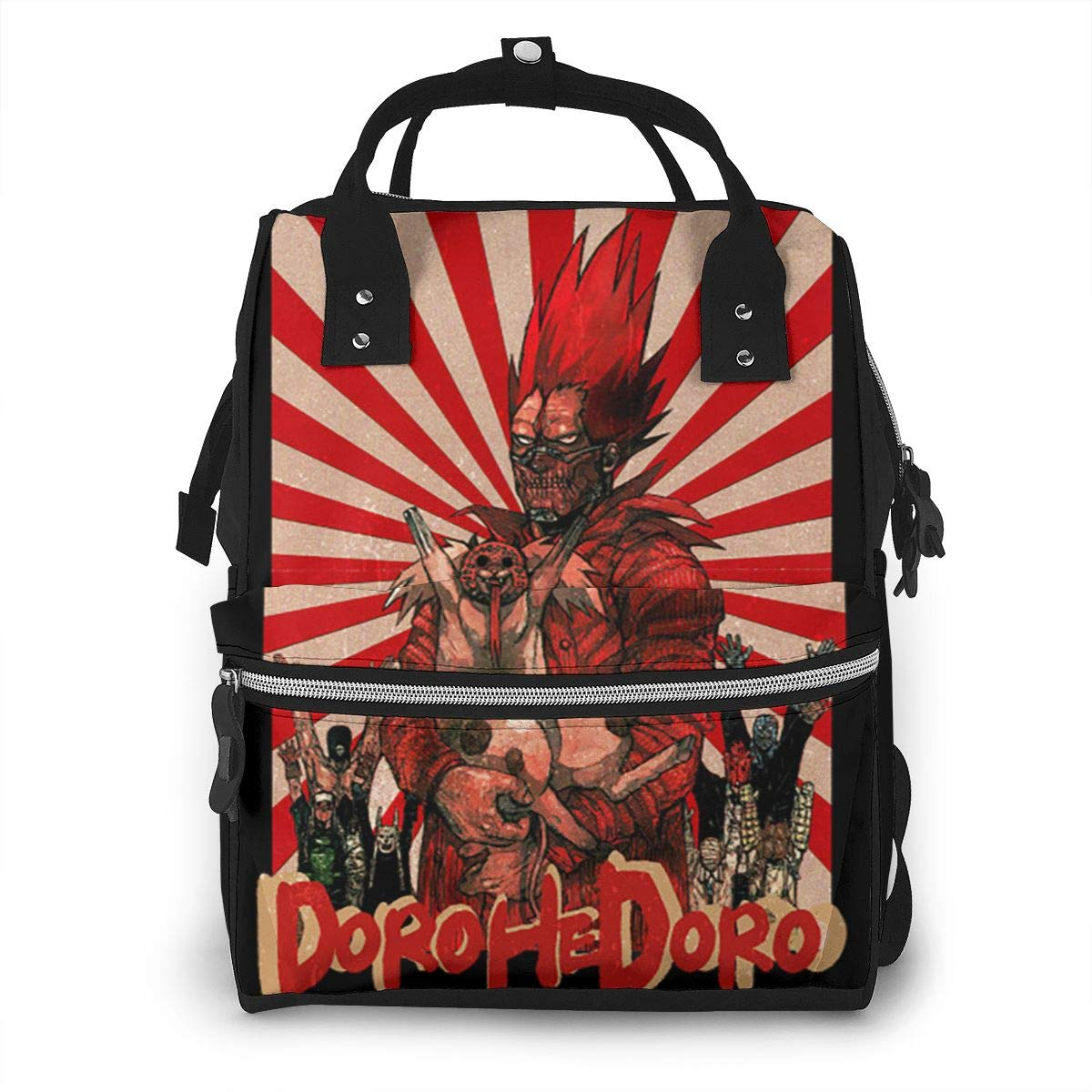Dorohedoro Cool Durable Large Capacity Diaper Bag Mommy Backpack