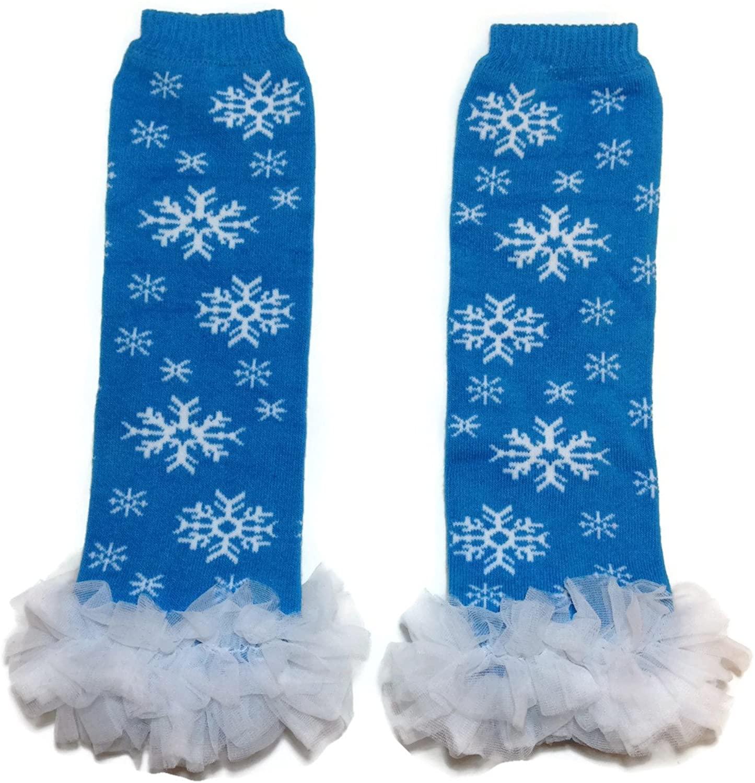 Rush Dance Christmas Chiffon Ruffles Baby/Toddler Leg Warmer