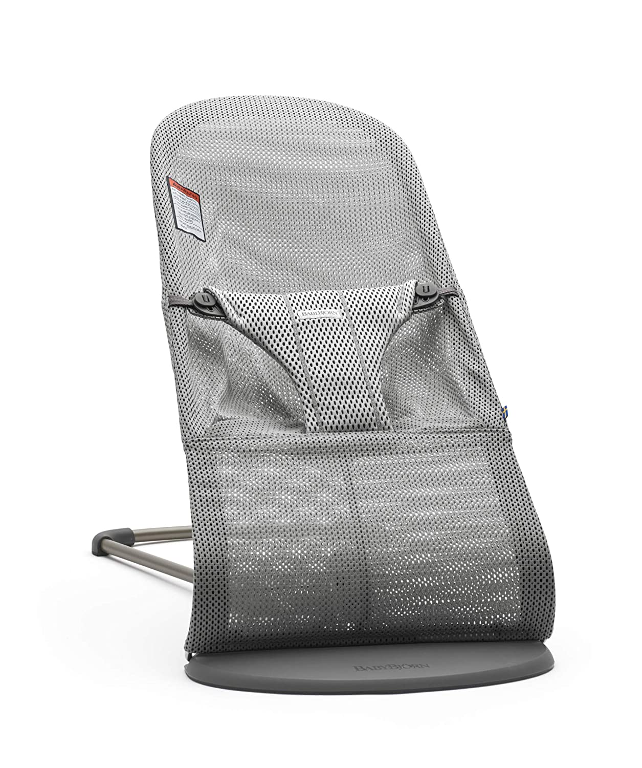BABYBJÖRN Bouncer Bliss, Mesh, Gray