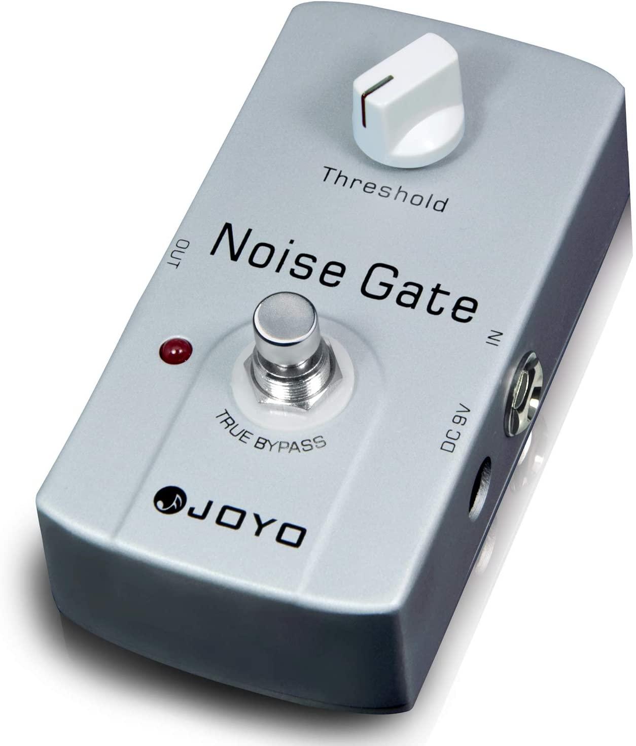 JOYO JF-31 Noise Killer Guitar Noise Gate Pedal Noise Reduction Pedal For Electric Guitar True Bypass