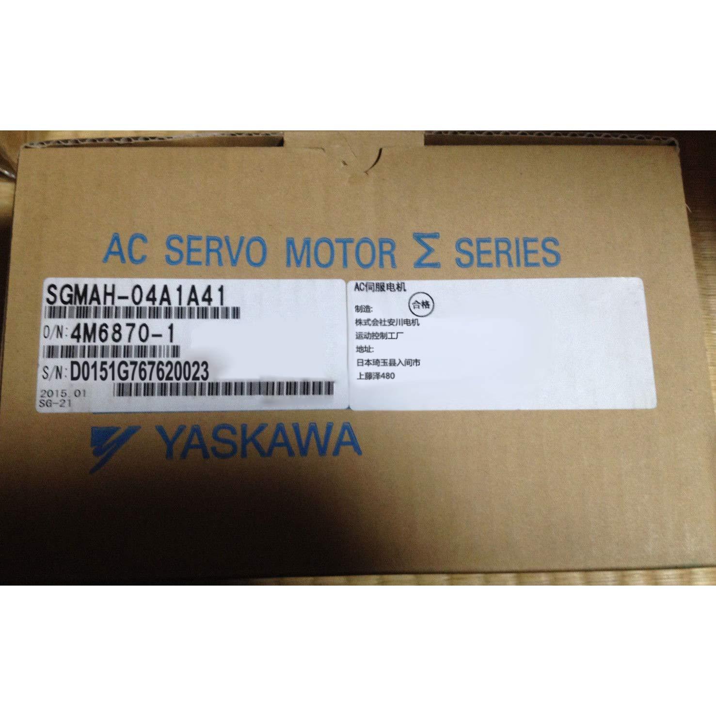 Sigma-2 Servo Motor SGMAH-04A1A21 400W 3000r/min 200VAC Motors