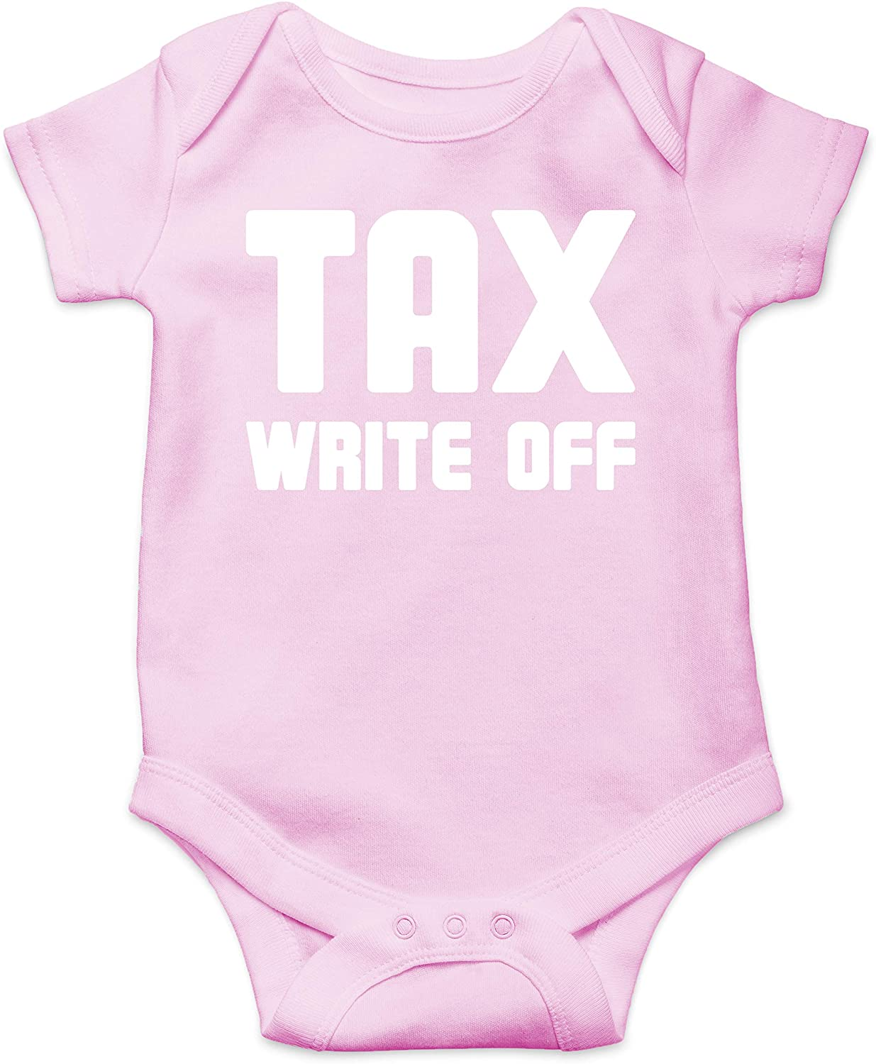 Tax Write Off - Accountant Parent - Funny Cute Infant Creeper, One-Piece Baby Bodysuit