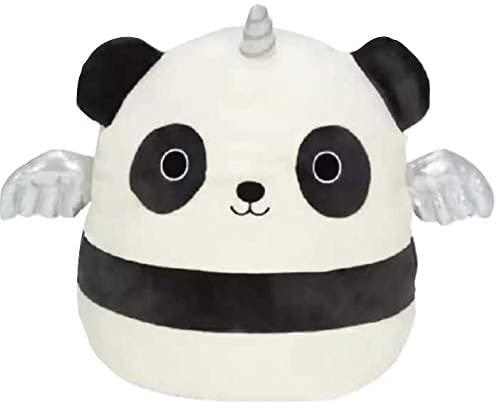 Squishmallow Kellytoy 8 Inch Kayce The Panda/Unipanda - Super Soft Plush Toy Animal Pillow Pal Pillow Buddy Stuffed Animal Birthday Gift Holiday