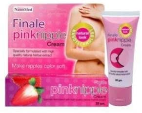 3 boxes of Pink Nipple Cream Nano Technology Natural Look Herbal Extract Make Nipple Color Soft- From Thailand 30 g. each (Sale)
