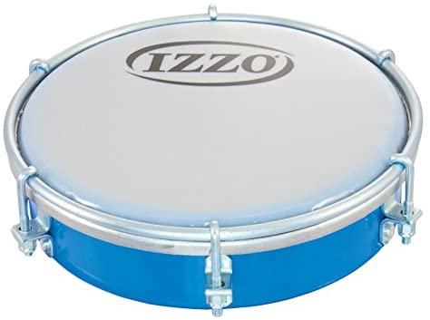 Izzo 6551 6-Inch ABS Tamborim - Blue