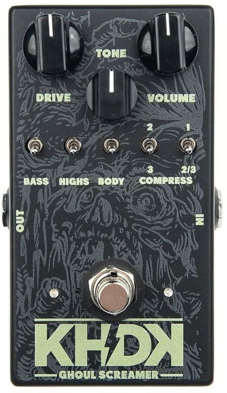 KHDK Ghoul Screamer Overdrive Effects Pedal