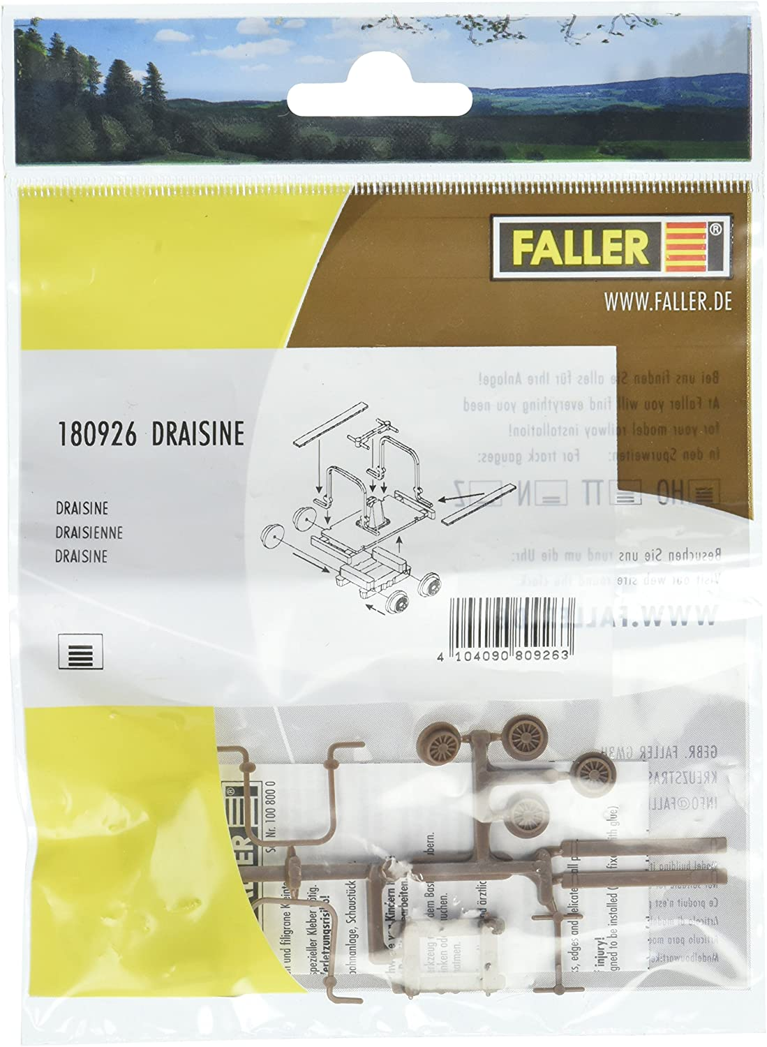 Faller 180926 Handcar Scenery and Accessories