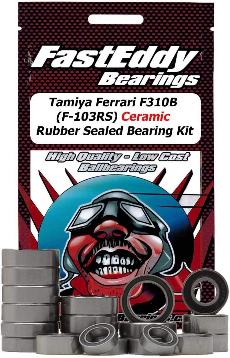 Tamiya Ferrari F310B (F-103RS) Ceramic Rubber Sealed Bearing Kit