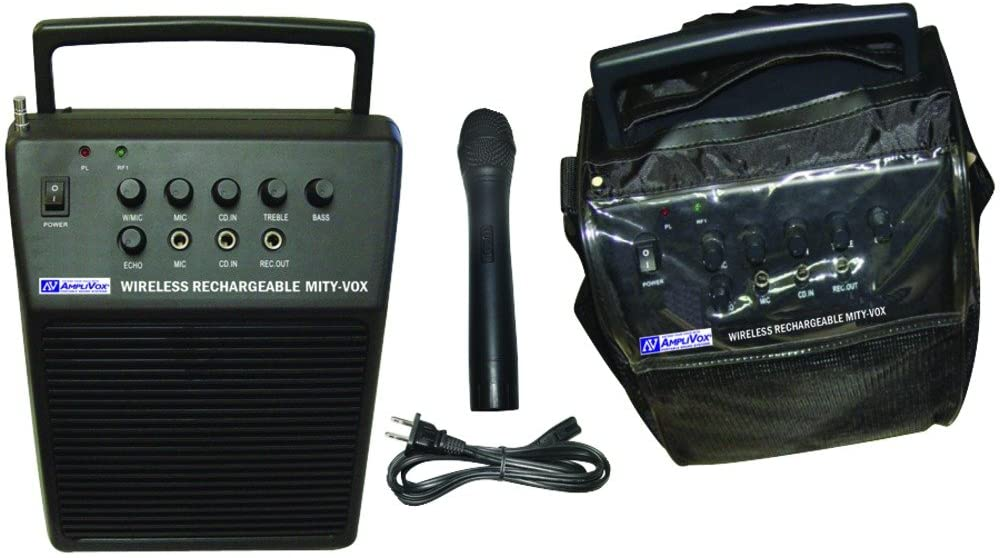 APLSW212 - Amplivox MityVox Wireless Portable PA System