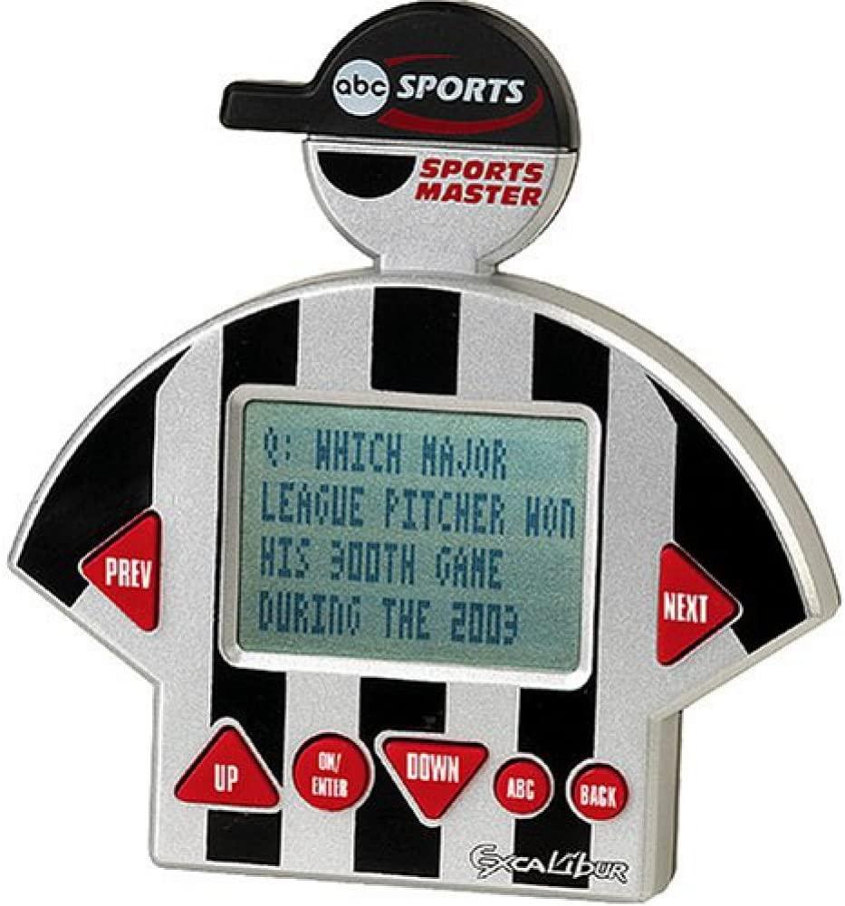 EXCALIBUR ELECTRONIC abc Sports Master Portable Electronic Game