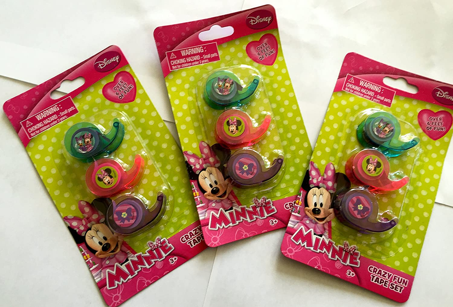 Disney Junior Minnie Mouse Fun Tape Set 3-pack