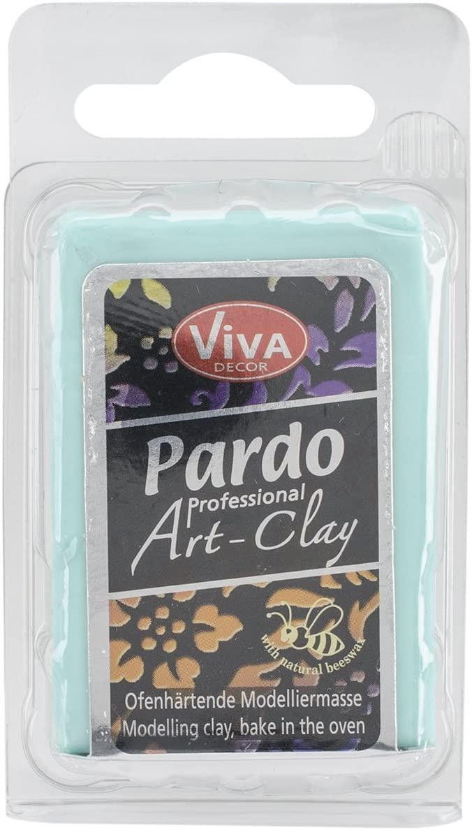 Viva Decor Pardo Art Clay Translucent, 56g, Aqua
