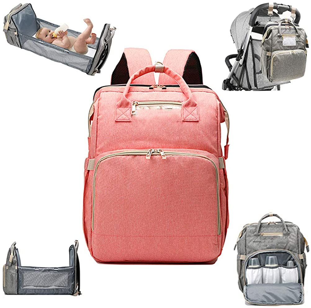 Baby changing backpack,convertible lightweight baby diaper bag