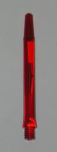 US Darts - RED Hurricane Bubble Shafts - 1 Set (3 shafts), 2BA Short, 2BA