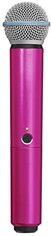 Shure WA713-PNK Colored Handle Only for BLX2/SM58 and BLX2/BETA58A Wireless Transmitters (Pink)