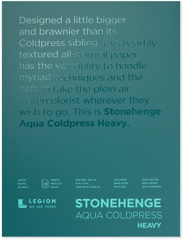 Yupo Paper Stonehenge Aqua Block Coldpress Pad 9