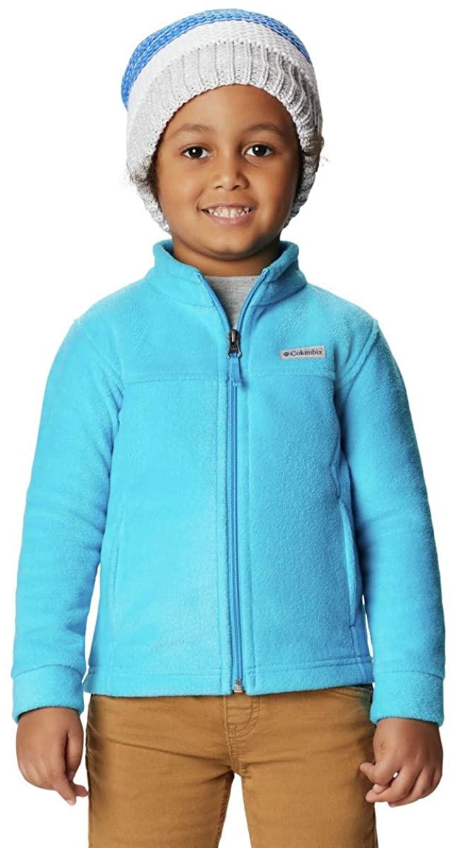 Columbia Little Boy's Steens Mt II Fleece Outerwear Ocean Blue XX-Small