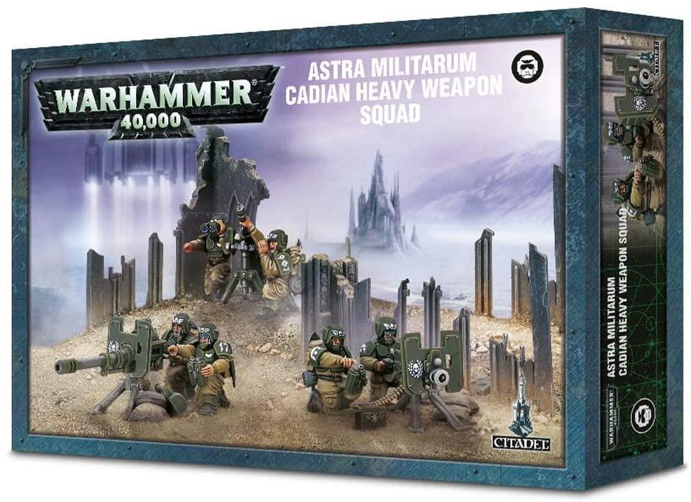 Citadel Astra Militarum Cadian Heavy Weapon Squad Warhammer 40,000