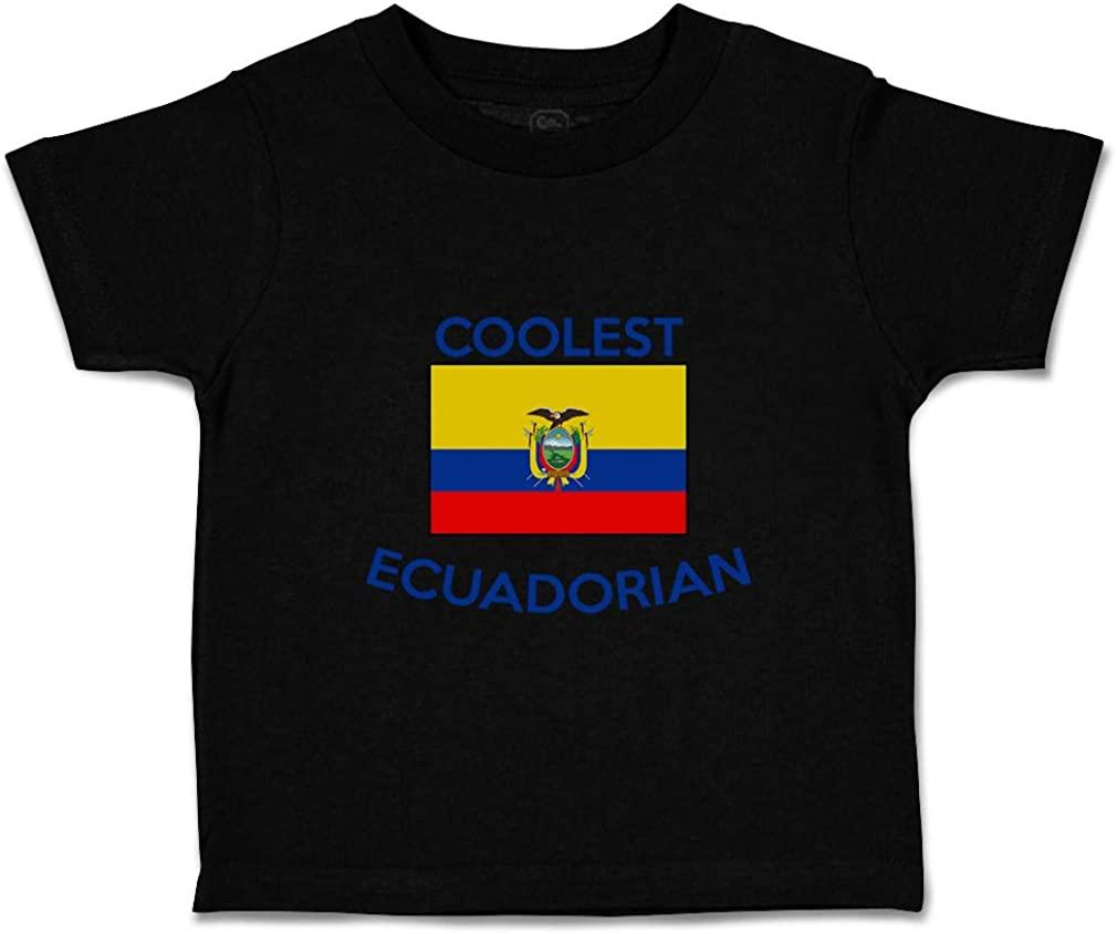 Custom Baby & Toddler T-Shirt Coolest Ecuadorian Cotton Boy Girl Clothes