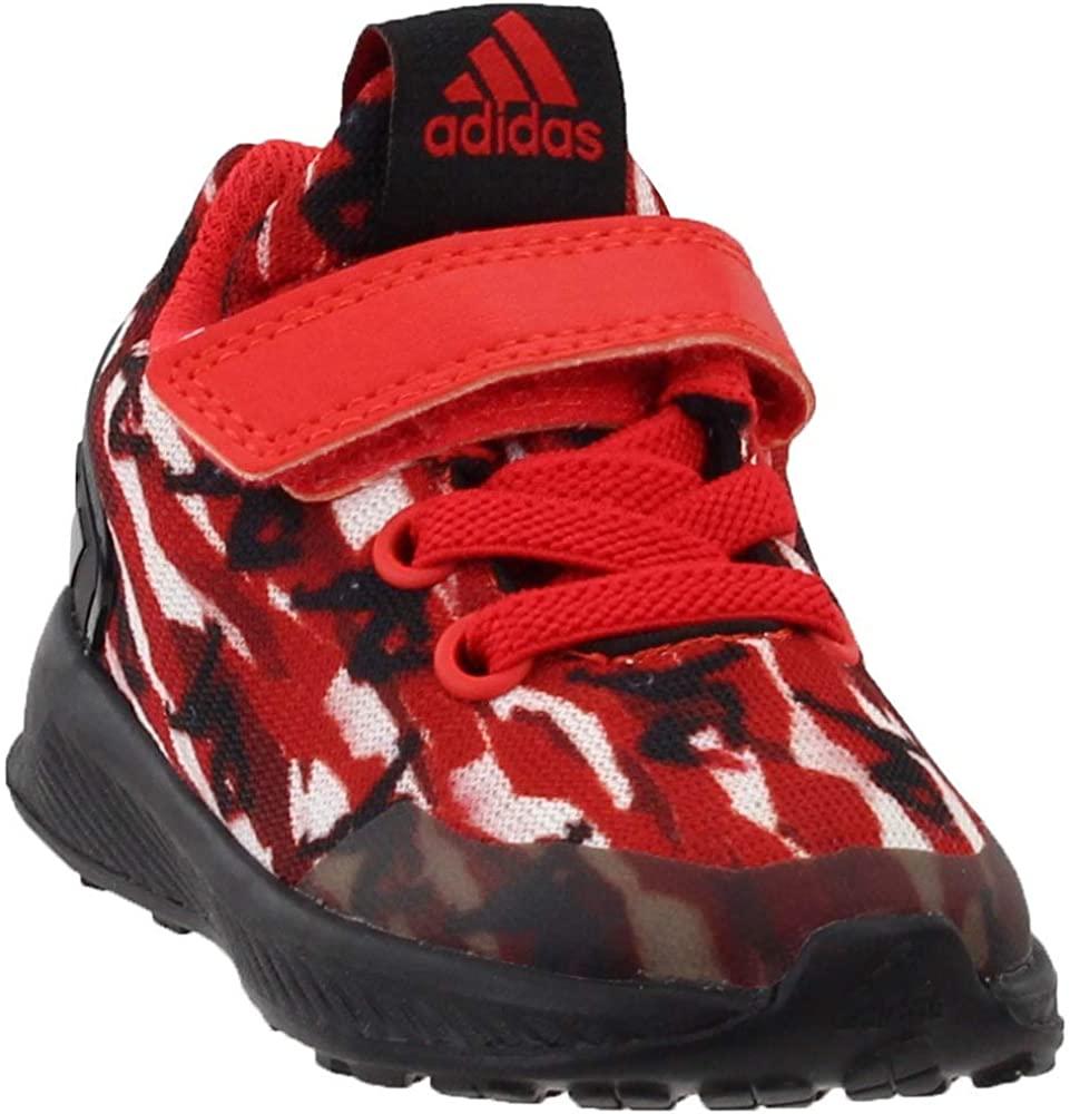 adidas Boys RapidaRun Spider-Man El Infant Casual Sneakers,