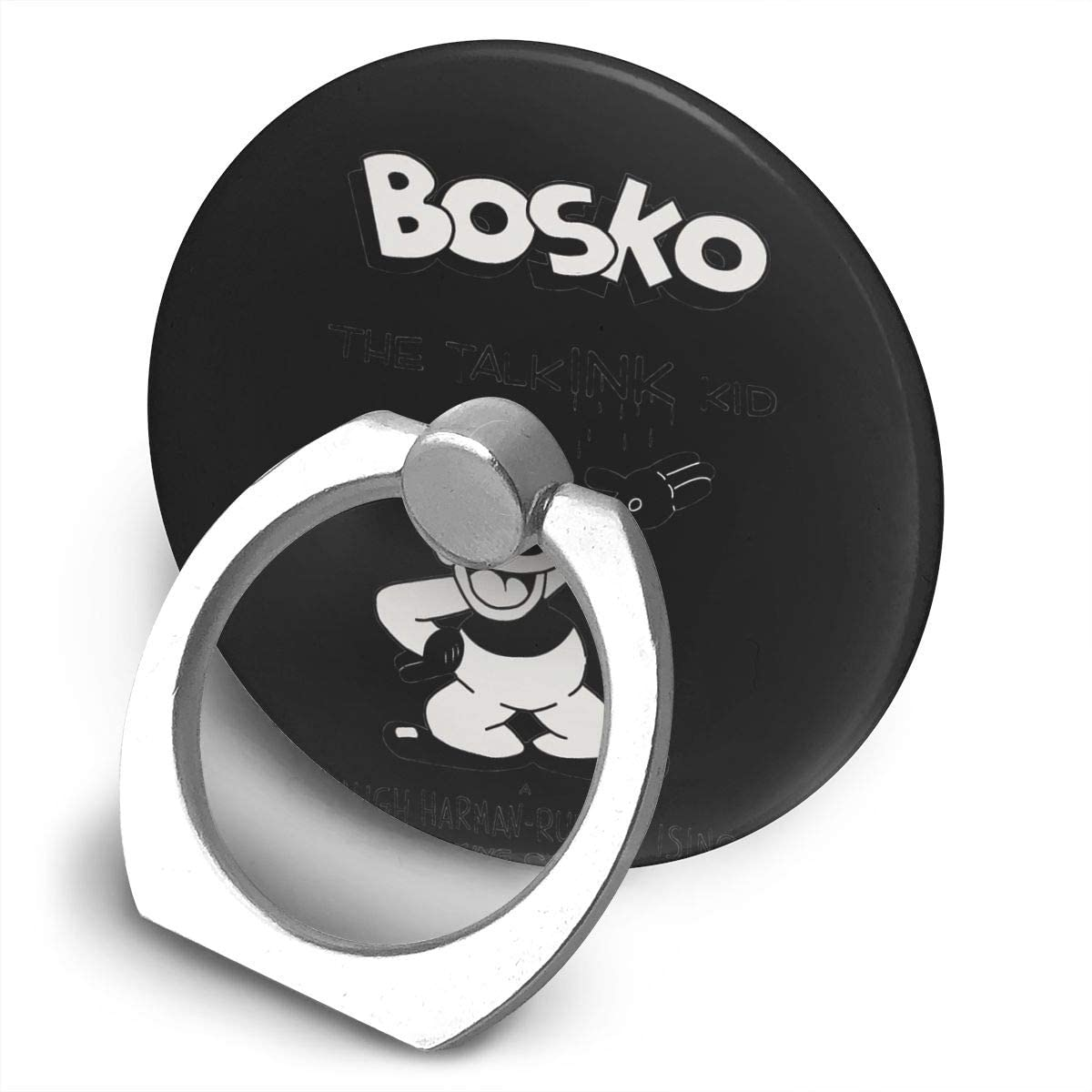 N/C Bosko Looney Tunes 360 Degree Rotating Ring Stand Grip Mounts Phone Holder Cell Phone Ring Holder