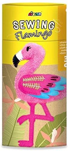 Avenir CH1627 Sewing Doll Flamingo, Mixed Colours