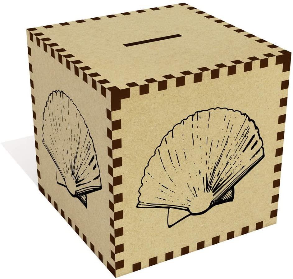 Azeeda Large 'Seashell' Money Box / Piggy Bank (MB00033868)