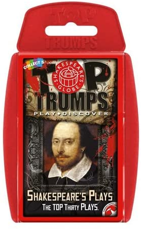 Top Trumps Shakespeares Plays Card Game