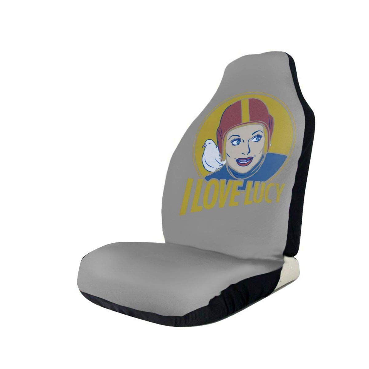 I Love Lucy Tv Show Car Seat Covers Car Seat Protector Covers ,Fit Most Cars, Sedan, SUV,Van