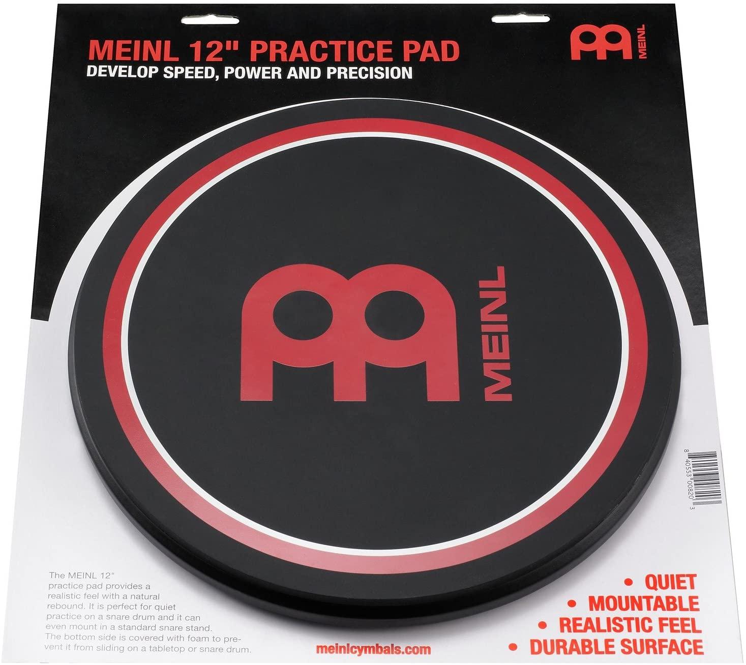 Meinl Cymbals MPP-12 12-Inch Practice Pad
