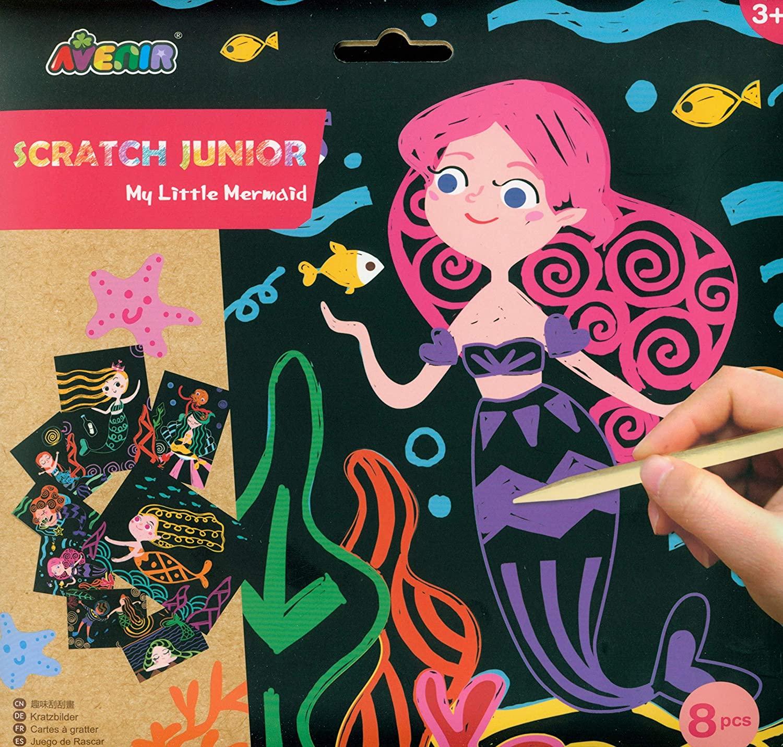 Avenir CH1677 Scratch Junior Little Mermaid, Mixed Colours