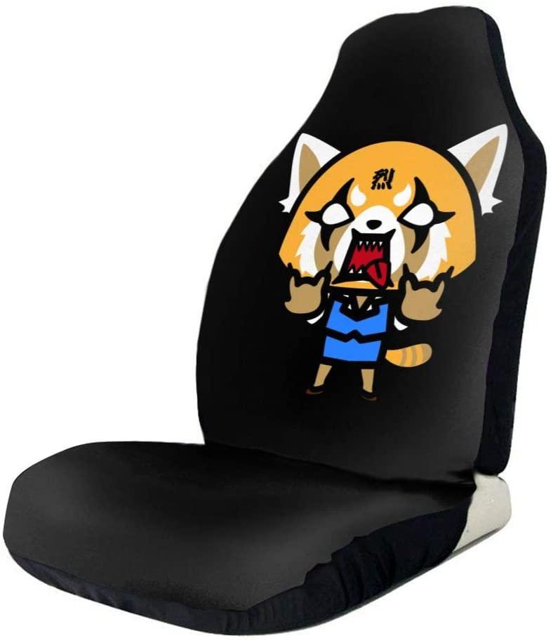 BellaAlong Aggretsuko Retsuko Set of Car Seat Protectors Vehicle Seat Protector Car Mat Covers 2 Pcs