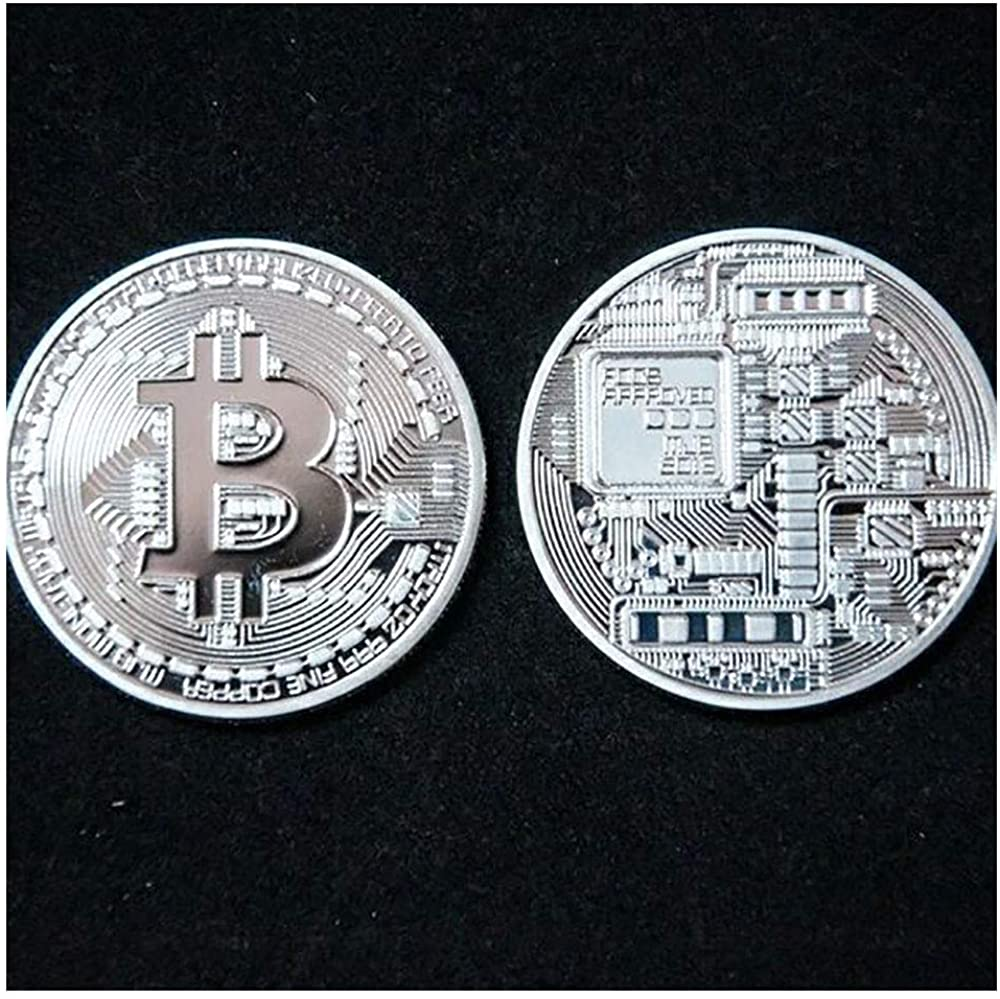 Physical Bitcoin Decoration Crafts Non-currency Coins Gold Plated BTC Bitcoin Coin Collection Art Gift Physical Coin 2013