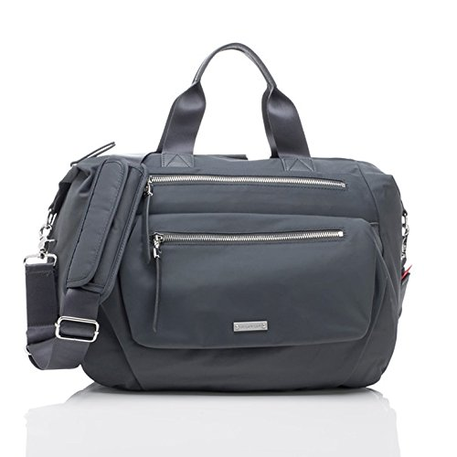 Storksak Seren Convertible Shoulder Backpack, Graphite, One Size