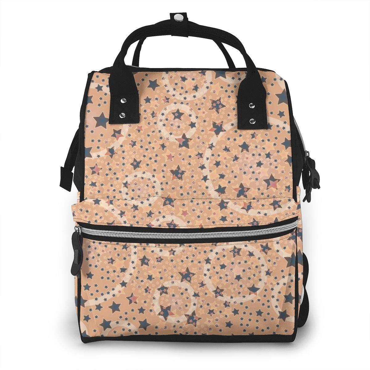 Diaper Bag Backpack Large Capacity Baby Bag Multi-Function Travel Backpack