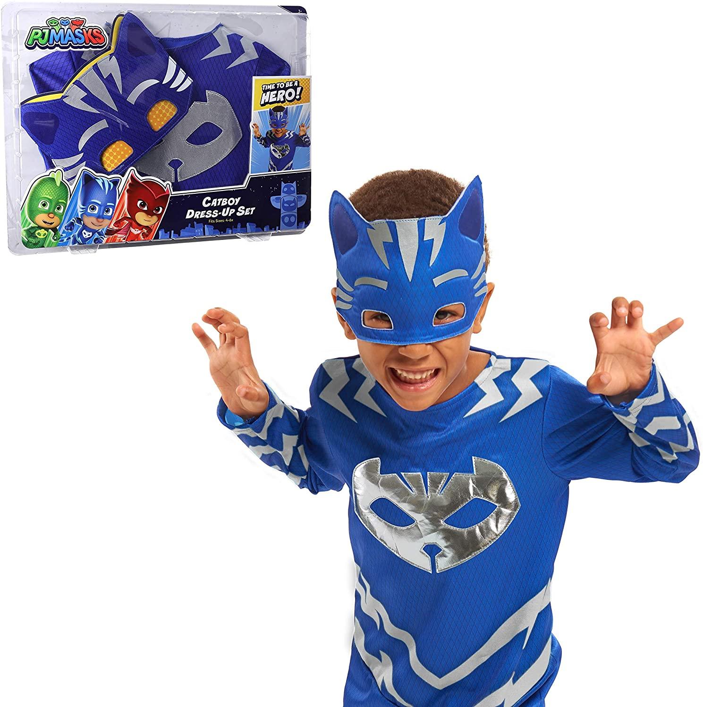 PJ Masks Turbo Blast Dress Up Set- Catboy