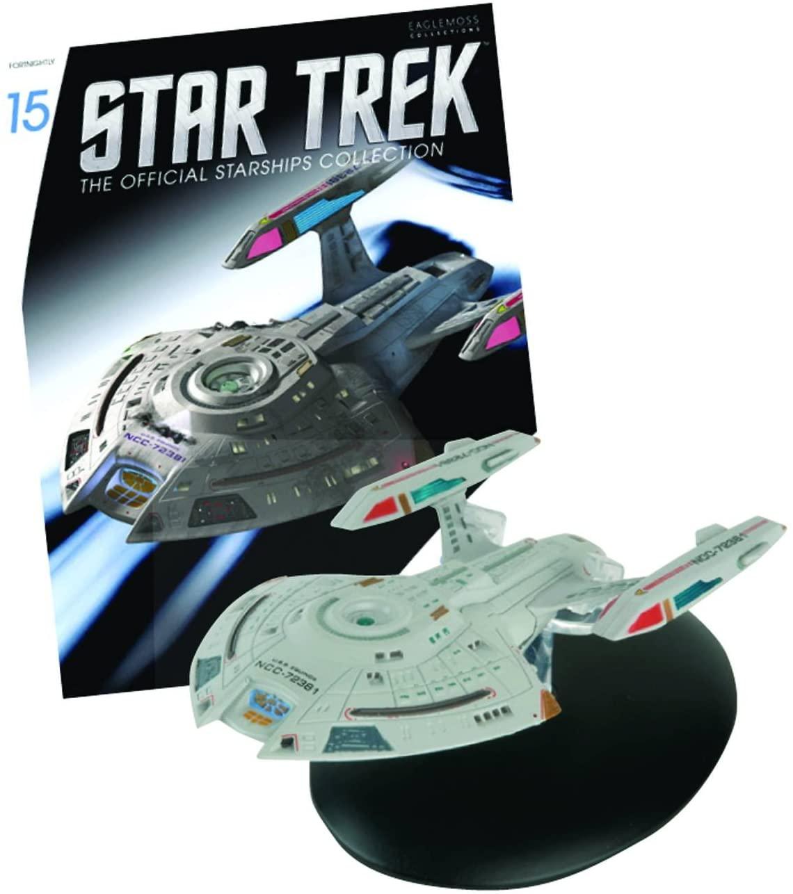Eaglemoss NCC-72381 U.S.S. Equinox Star Trek Starships Collection, 140 mm