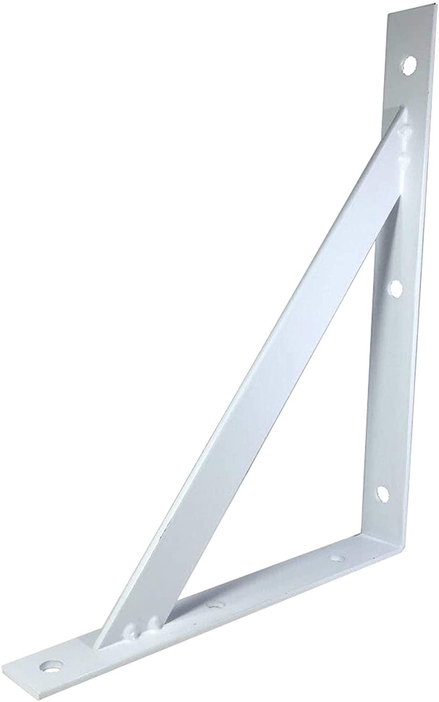 FixtureDisplays Metal White Bracket for Cell Phone Ipad Mini Charging Station Lockers 15635