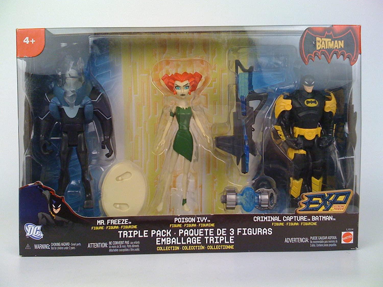 The Batman EXP Action Figure 3-Pack Mr. Freeze, Capure Batman & Exclusive Poison Ivy