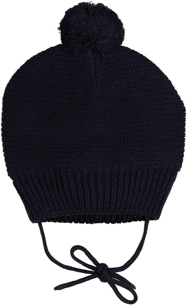 Polarn O. Pyret Winter ECO Knit Bobble Cap (Baby)