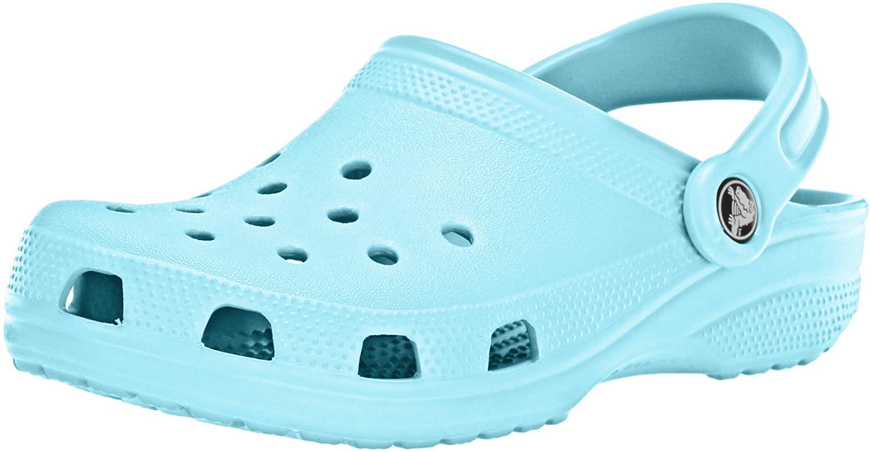crocs Women's Classic Mule  Ice Blue - 9 B(M) US Women / 7 D(M) US Men