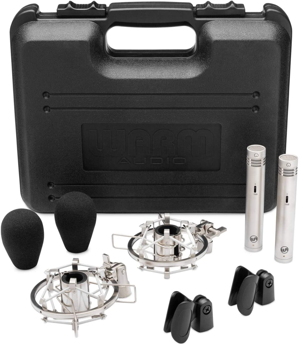 Warm Audio WA-84 Stereo Pair - Nickel