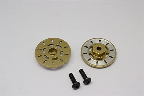 GPM Traxxas Latrax Rally Upgrade Parts Aluminium Brake Disk Hex Adapter (+1mm) - 2Pcs Set Titanium