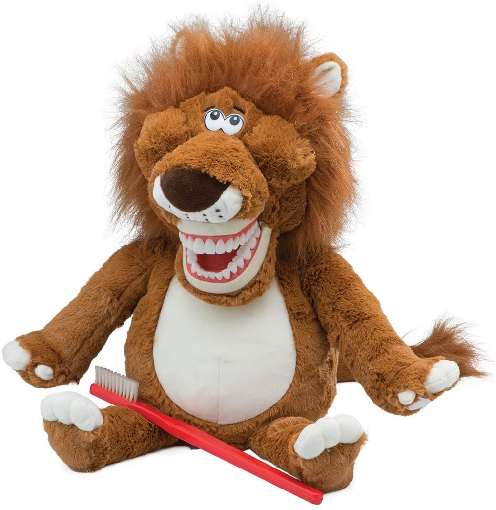 Leo The Lion Dental Puppet - Children's Dental Education Products