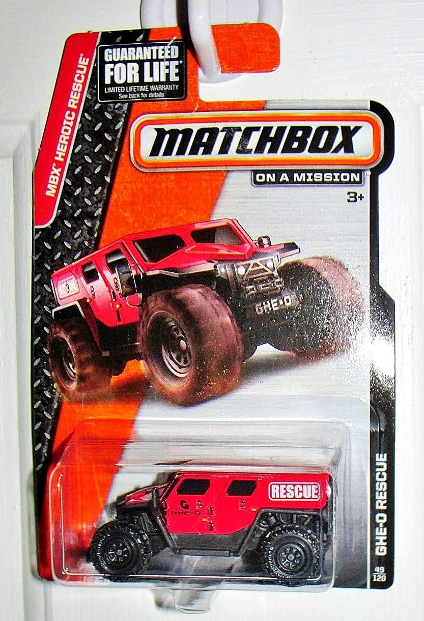 Matchbox MBX Heroic Rescue GHE-O Rescue 49/120